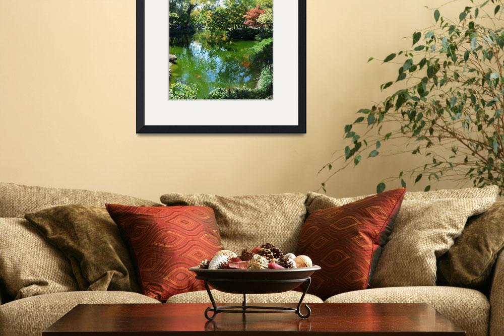 """""""Koi Pond&quot  (2008) by westhillphoto"""