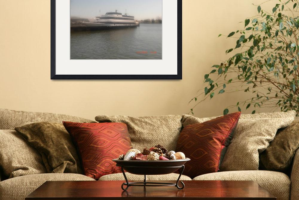 """""""Small Cruise Ship&quot  (2011) by MichaelLippel"""