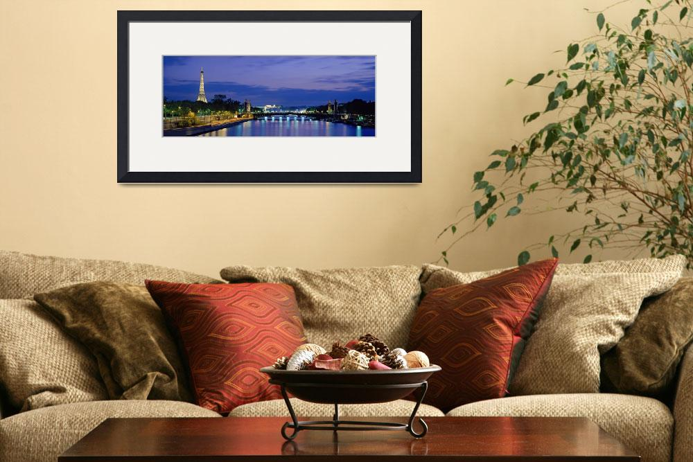 """Paris Eiffel Tower&quot  by IK_Stores"