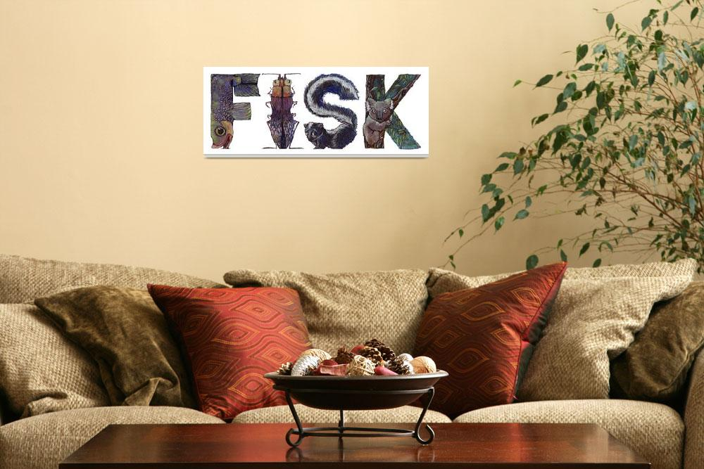"""""""Fisk&quot  by animalsoup"""