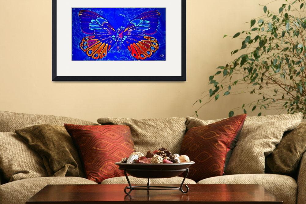 """Abstract Butterfly Art 13""  (2016) by positivebusinessdesigns"