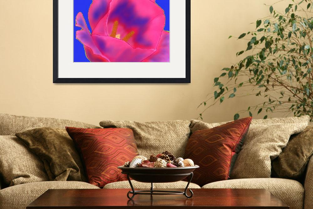 """""""Tie-Dye Shock Tulip&quot  (2009) by OpheliasKiss"""
