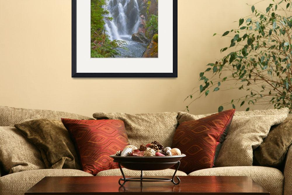 """""""Waterfalls - Beauty Of Nature Page By Page&quot  by artsandi"""