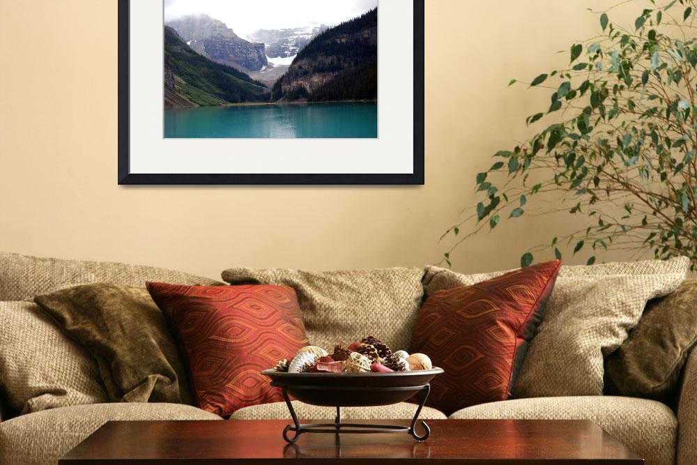 """""""Canadian Rockies - Lake Louise&quot  (2008) by HBarrison"""