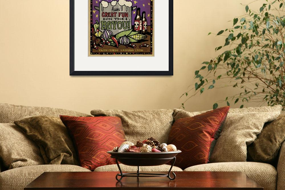 """Fun on the Bayou&quot  by artlicensing"