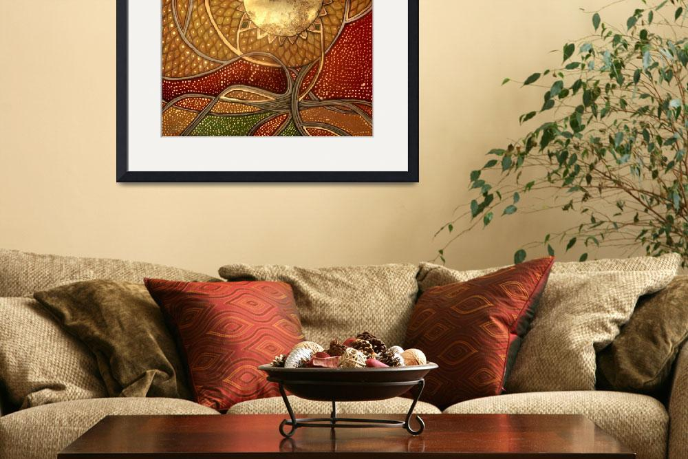 """""""Tree of Life&quot  (2010) by LynnetteShelley"""