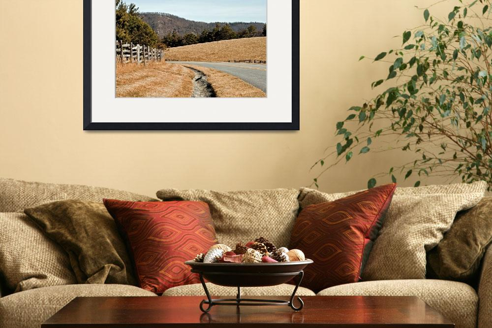 """""""BlueRidge Parkway View by Doughton Park&quot  (2012) by Photographybyjim"""