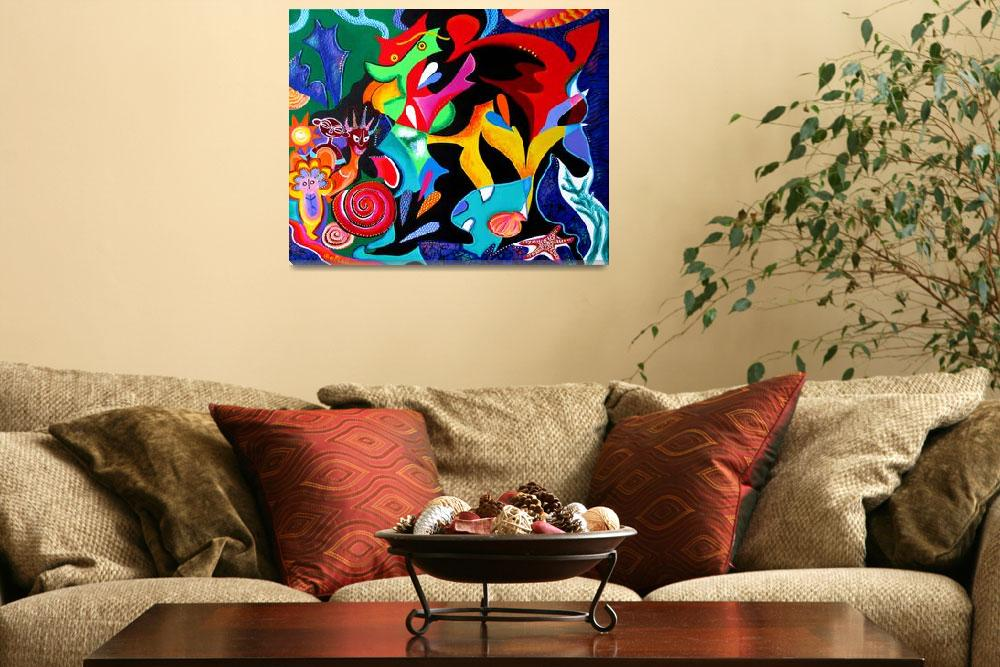 """""""Echoes of Taino and Vejigantes&quot  (2014) by galina"""