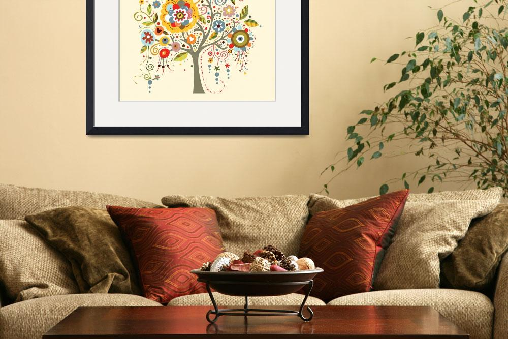 """""""Blooming Tree&quot  (2010) by AdinaC"""