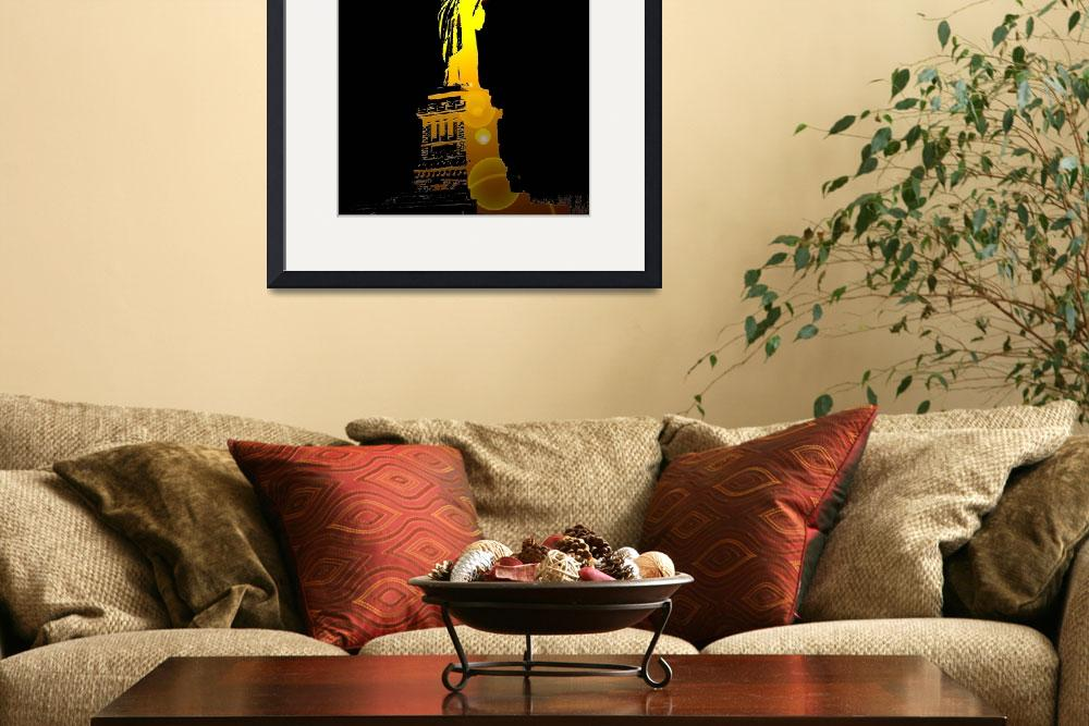 """""""The Statue of Liberty, New York, USA&quot  by FarajB"""