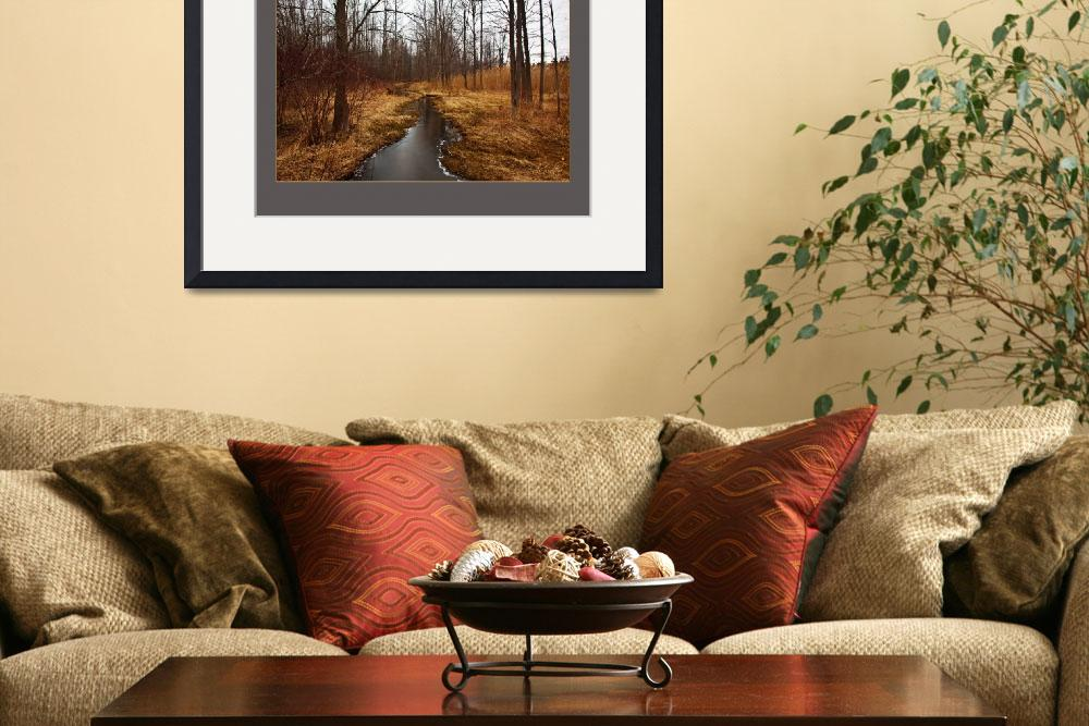 """""""Crooked Creek on Smith Farm&quot  (2010) by dbwalton"""