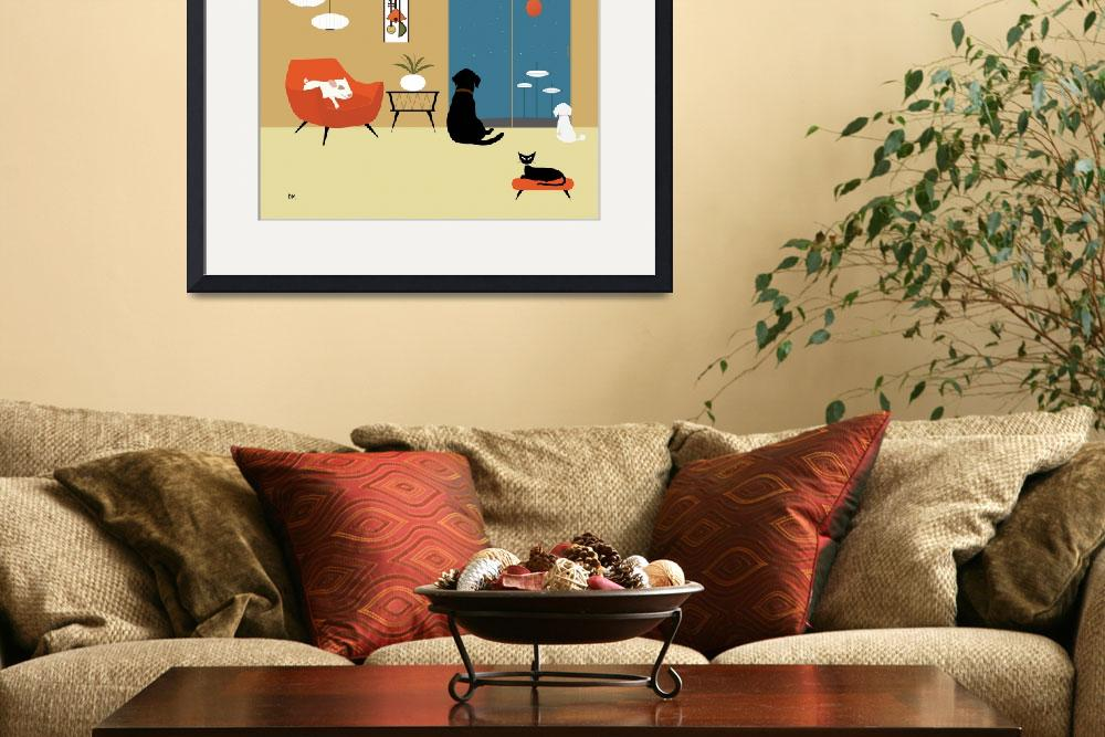 """Mid Century Modern Animals""  (2015) by DMibus"