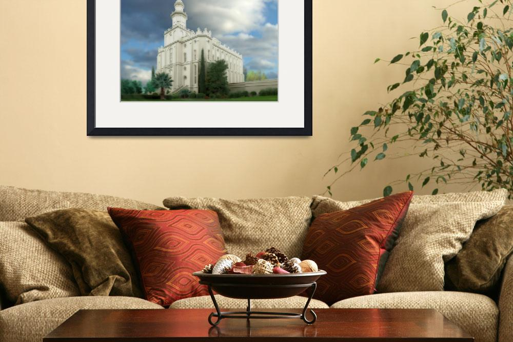 """""""St George Temple&quot  by TerrySpringer"""