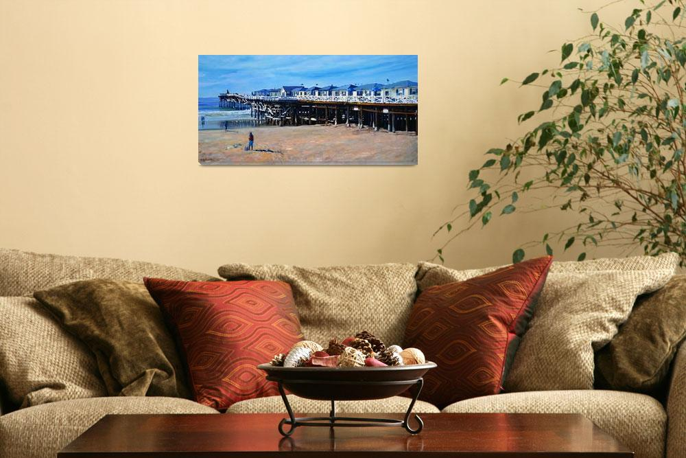 """""""Crystal Pier Pacific Beach by RD Riccoboni""""  (2014) by RDRiccoboni"""