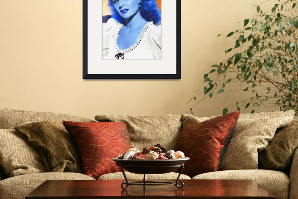 """Rita Hayworth in The Lovers of Carmen&quot  (2012) by ArtCinemaGallery"