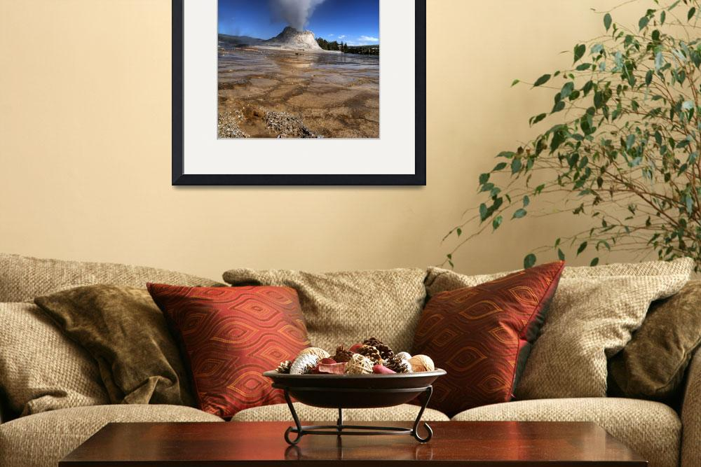 """""""Castle Geyser&quot  (2009) by istimuli"""