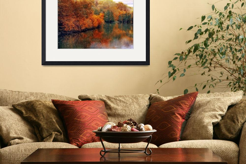 """""""Autumn Reflected""""  (2010) by JessicaJenney"""