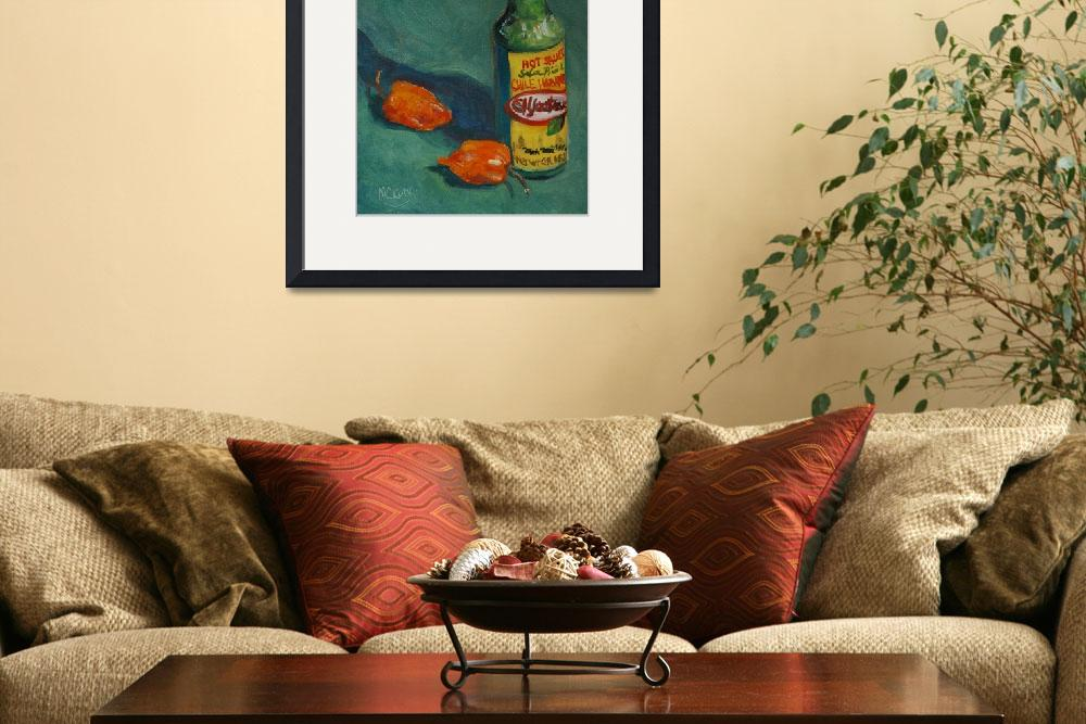 """Habanero Hot Sauce&quot  (2008) by maryanncleary"
