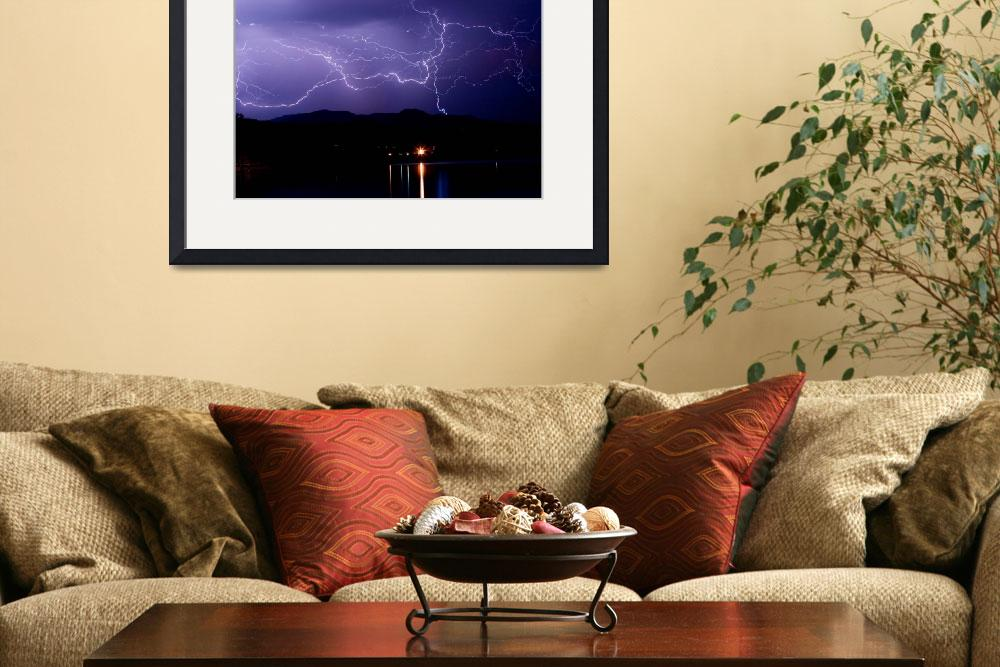 """Hot August Lightning Photo&quot  (2009) by lightningman"