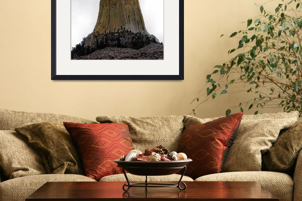 """""""Devils Tower Wyoming&quot  (2009) by NWExposures"""