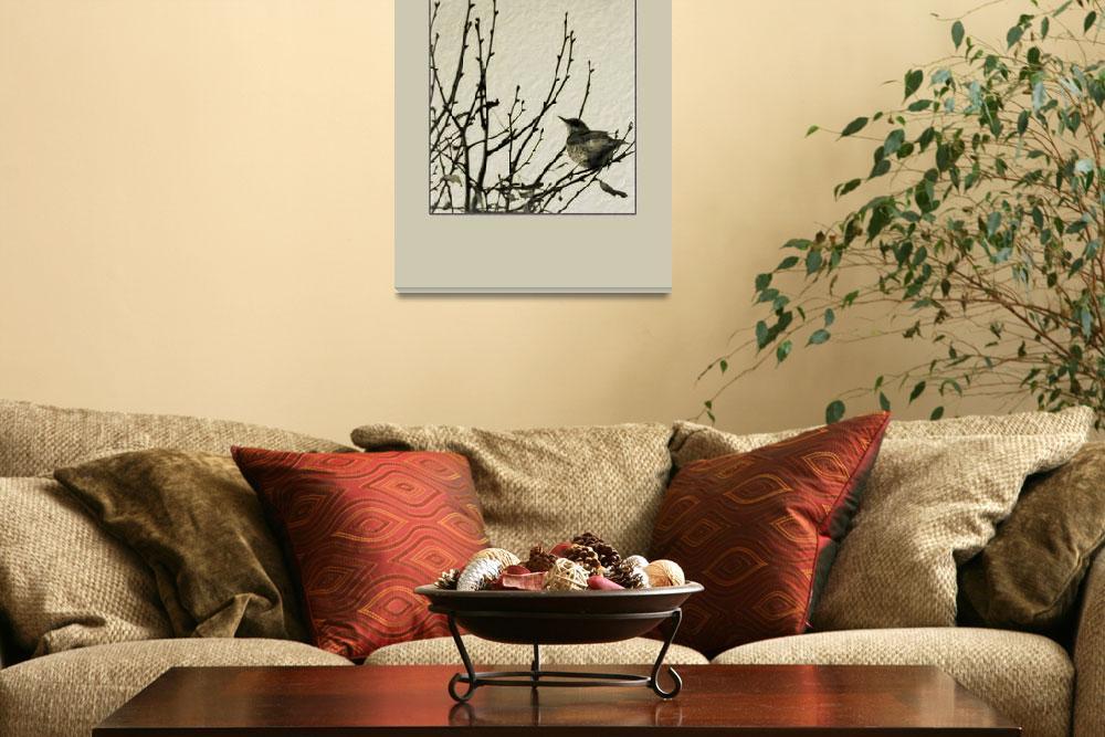 """""""Bird in tree II""""  (2011) by anderssonochbrunk"""