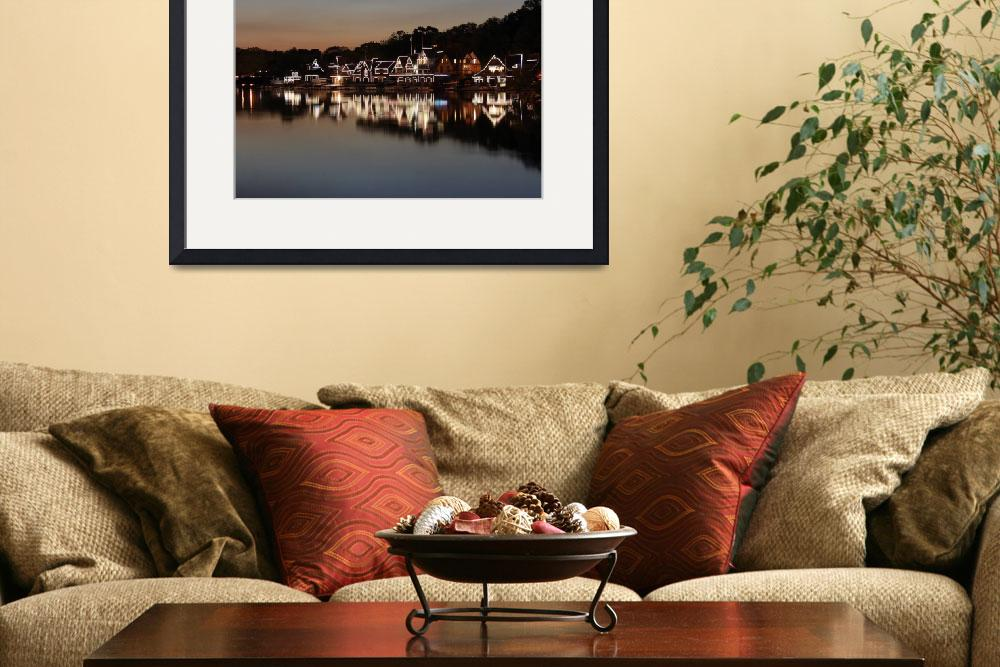 """""""Boathouse Row&quot  (2011) by christiancarollo"""
