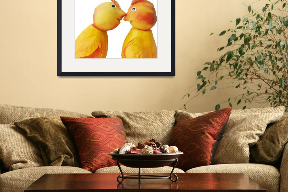 """Lovebirds&quot  (2010) by rere"