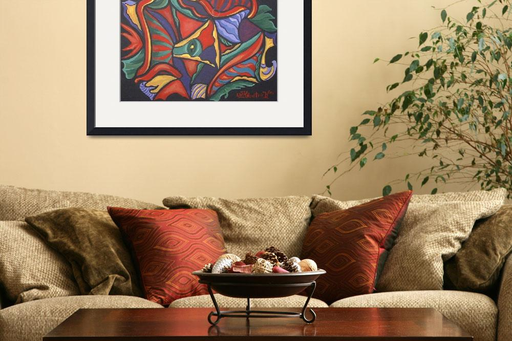 """""""Abstract Vision&quot  by theartlady"""