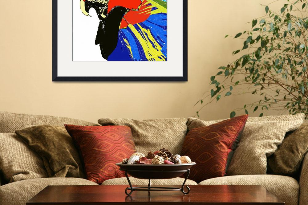"""""""Macaw&quot  (2007) by MPMPatrick"""