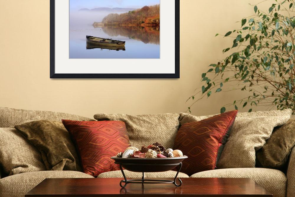 """""""Lough Gill Tranquility&quot  (2010) by haukesteinberg"""