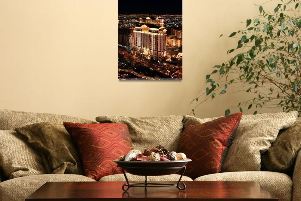 """""""Caesars from the Eiffel Tower&quot  (2008) by jeannemor"""