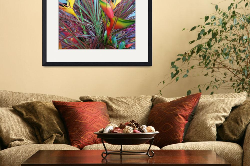 """Bird of Paradise Flower Arrangement&quot  (2008) by ProjectBula"