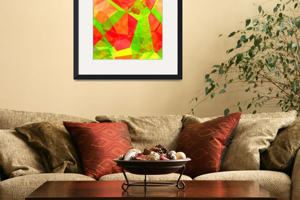"""""""Abstract Polygons 200""""  by ChristopherInMexico"""