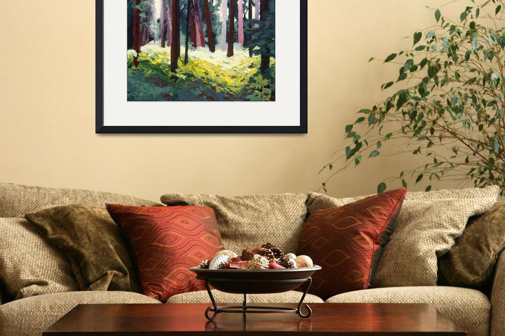 """""""McCall Trees (revised)&quot  (2011) by susanbailyweaver"""