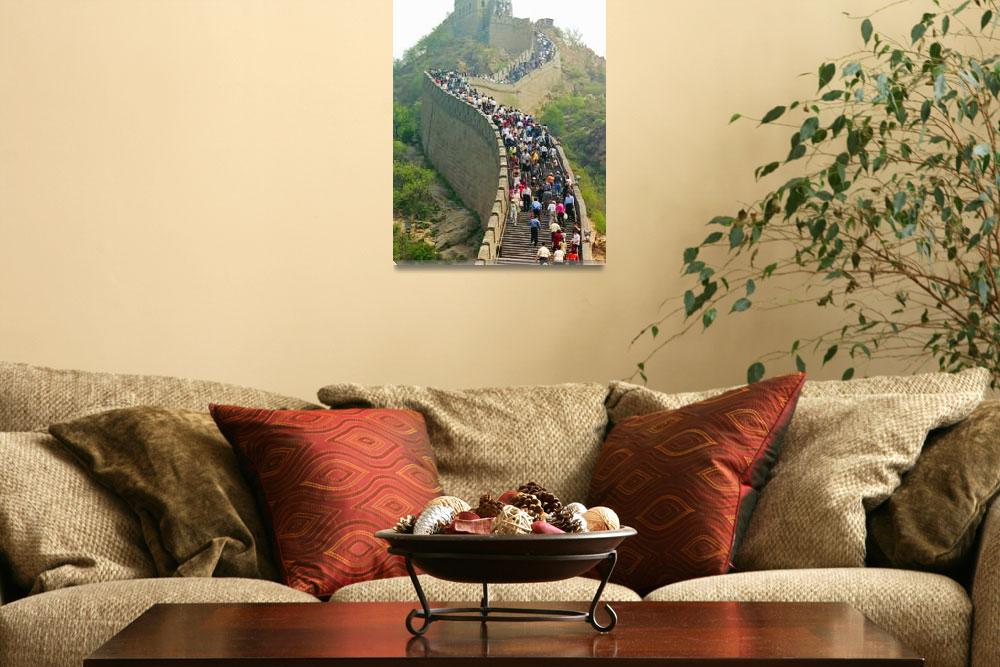 """Great Wall of China&quot  (2001) by stockphotos"