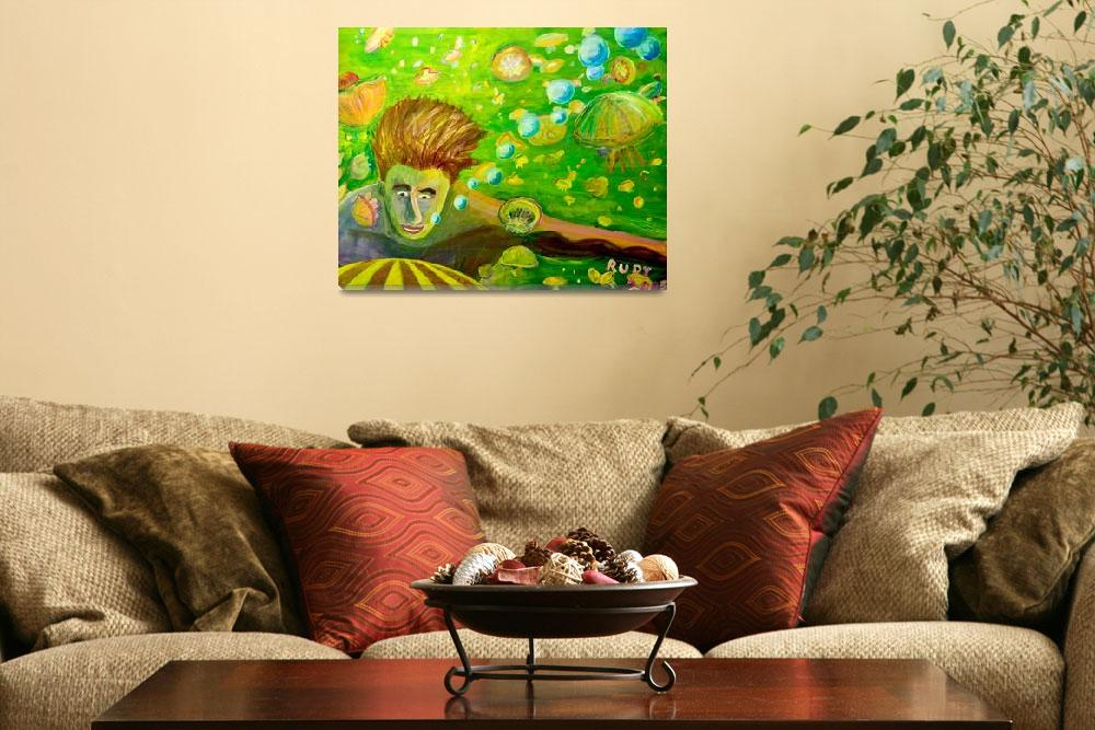 """Jellyfish Lake""  by Rudy"
