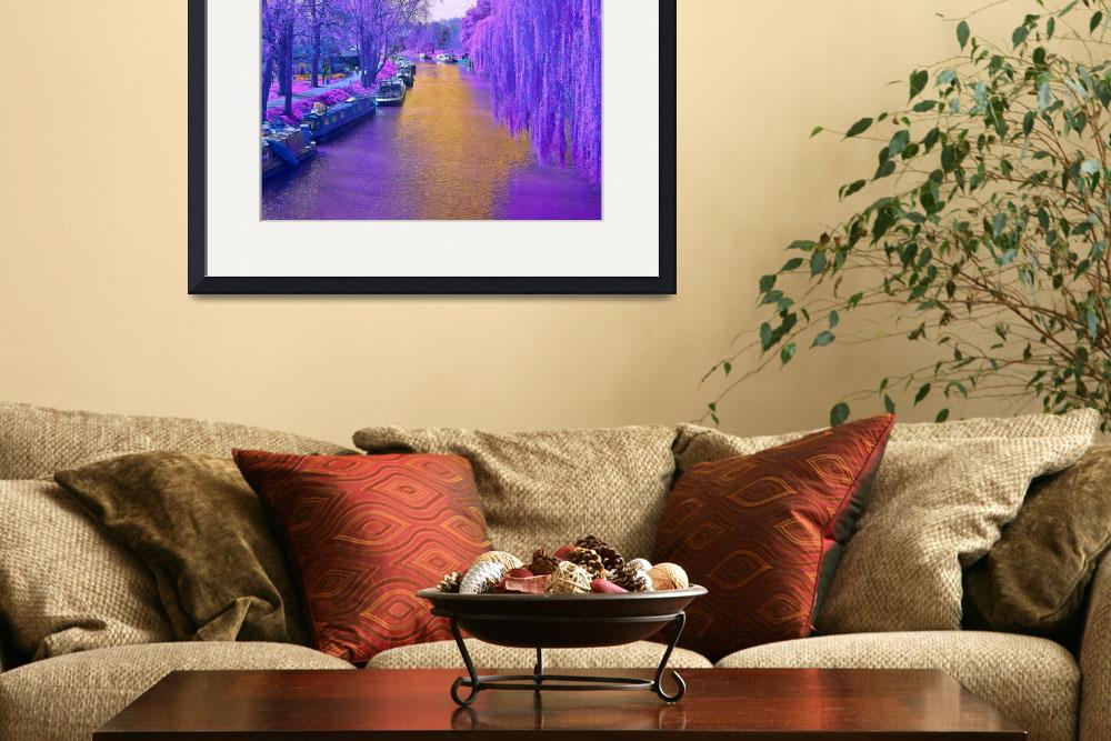 """""""Purple canal&quot  (2014) by amandascreativevision"""