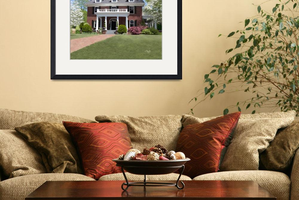 """""""Hardeman-Sams House in Athens, Georgia&quot  by Tim"""