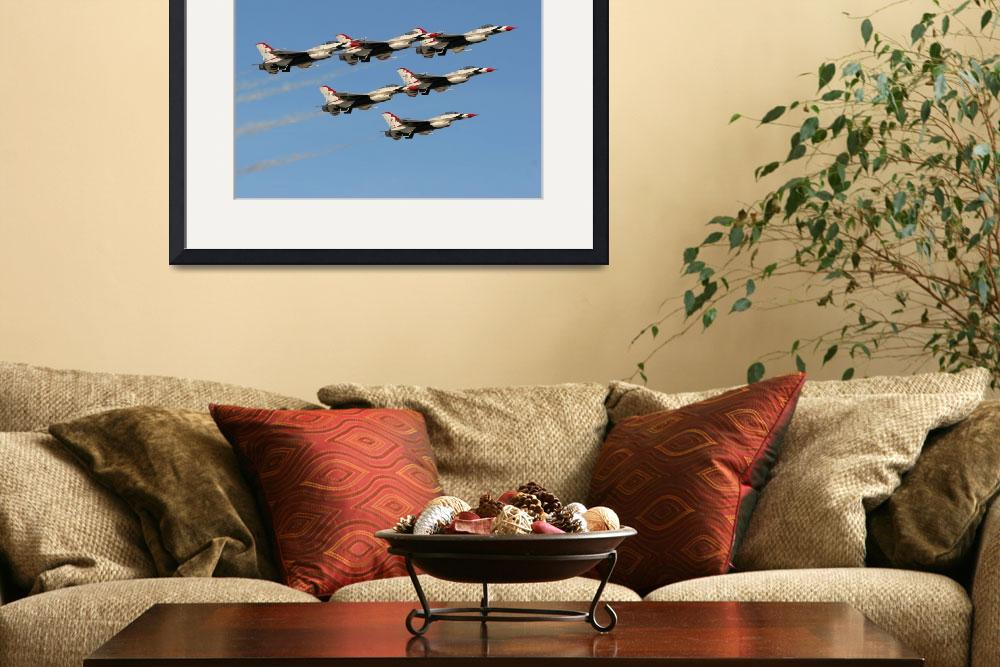"""""""USAF Thunderbirds&quot  by ColinBody"""