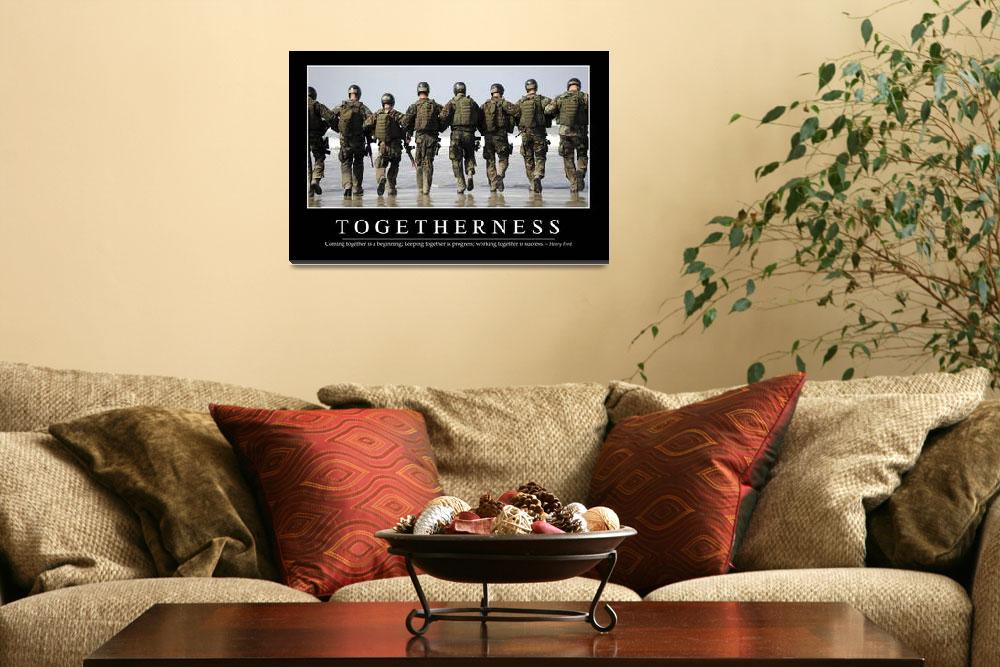 """""""Togetherness: Inspirational Quote and Motivational&quot  by stocktrekimages"""