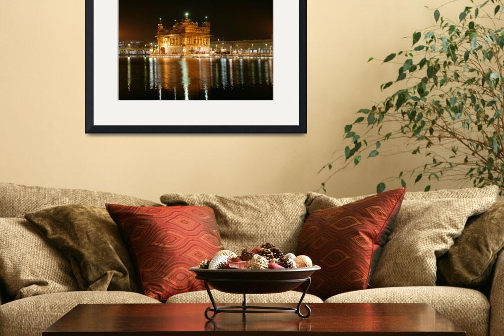 """""""Night Time Golden Temple&quot  by SikhPhotos"""