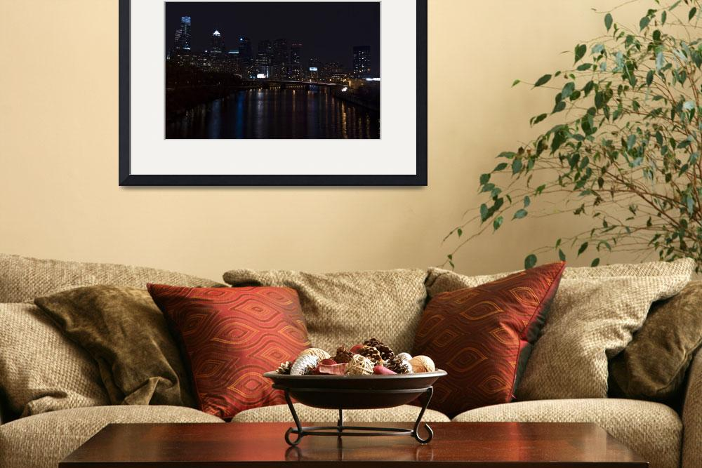 """""""Philly at Night&quot  (2009) by Jaa999Pa"""