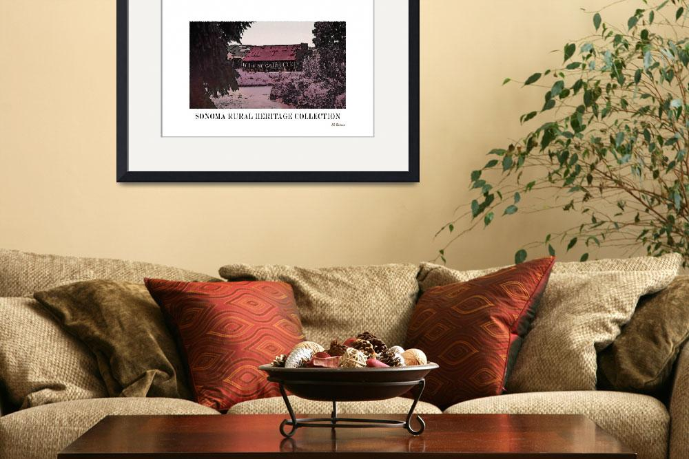 """""""Sonoma Heritage Poster&quot  (2013) by Bracco"""