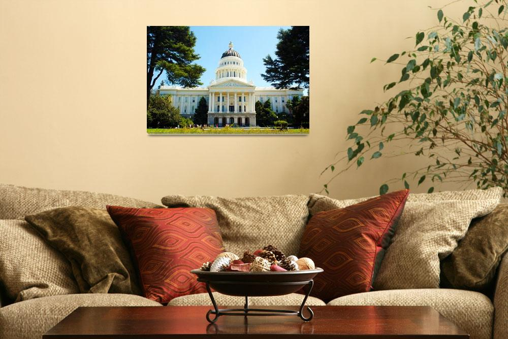 """California Capitol Building""  (2012) by calphy"