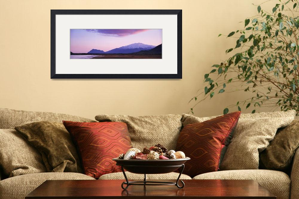"""""""Mountains on a landscape&quot  by Panoramic_Images"""