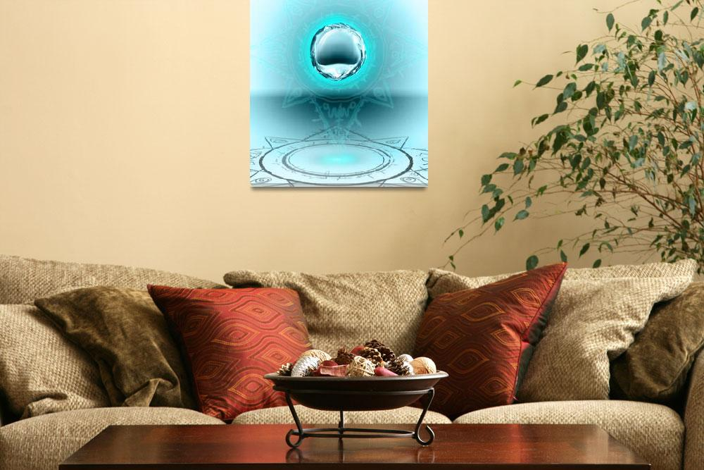 """Circle Water&quot  (2012) by MichaelAMorel"