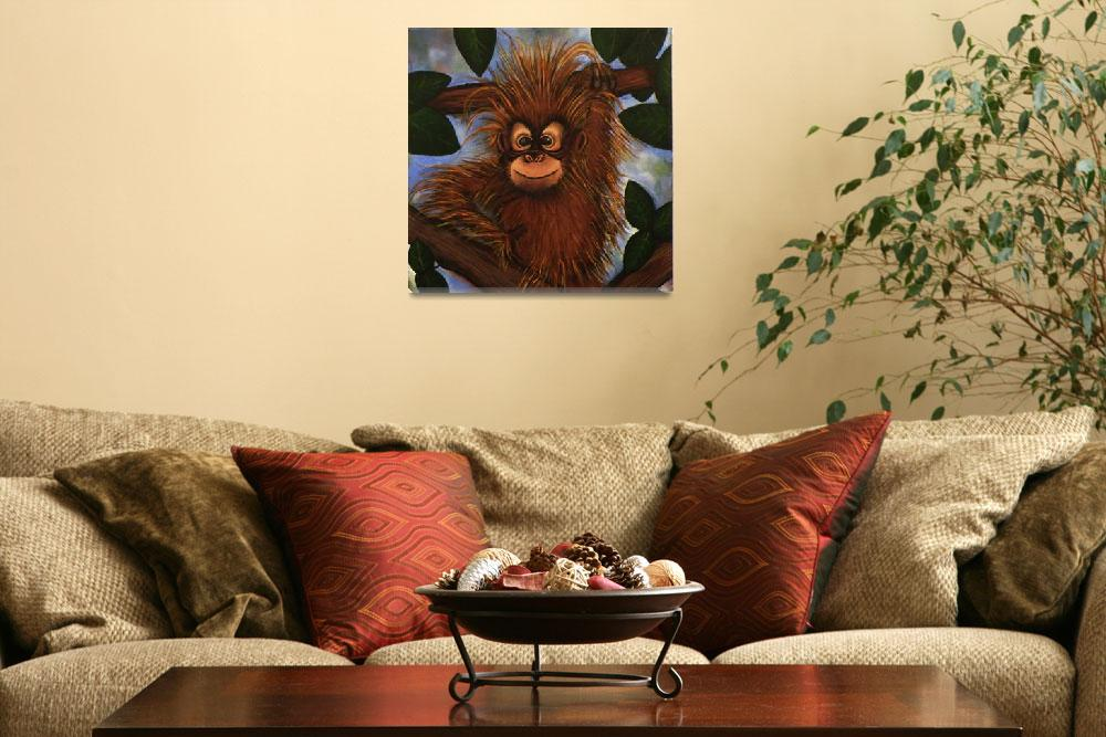 """Baby Orangutan&quot  (2010) by devinshayla"