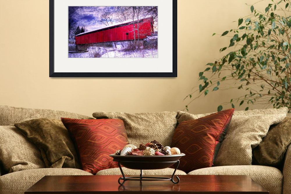 """""""Covered Bridge&quot  by chrisirmo"""