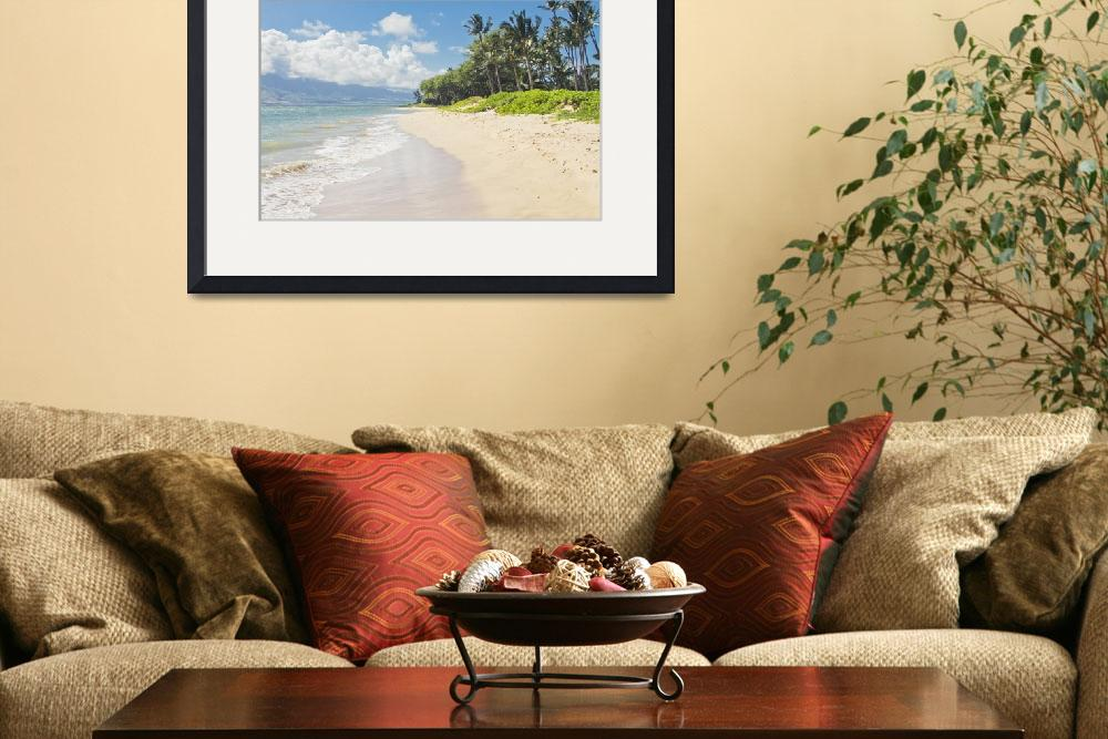 """Kawililipoa Beach Kihei Maui Hawaii&quot  (2014) by sharonmau"