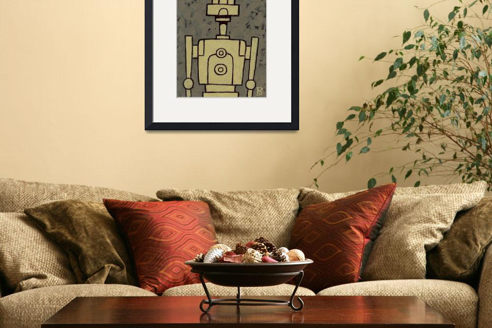 """""""Robot Bob&quot  (2010) by robcolvin"""